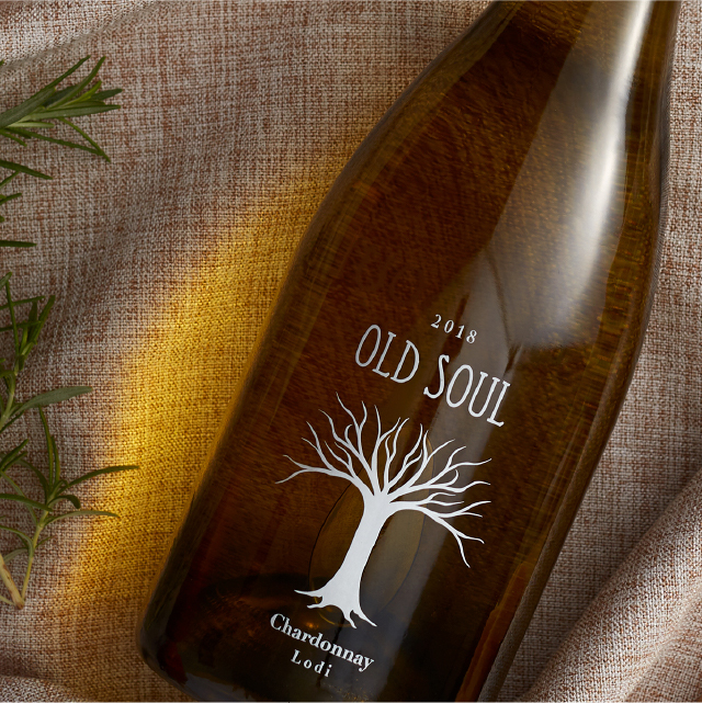 Old Soul Wine Bottle